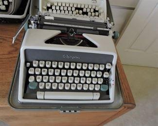 Olymipa manual typewriter