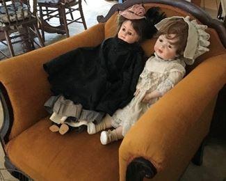 Bisque head Dolls