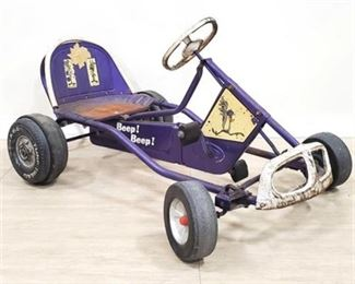 Lot 010 Vintage 60s Murray Super Tot Rod Pedal Car