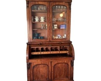 Lot 001 Antique Victorian Era Secretary