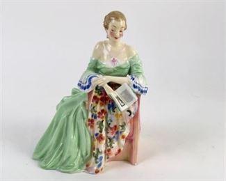 Lot 008 Royal Doulton 'Sweet and Fair' HN 1865 Figurine