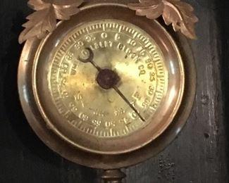 J. LEWKOWITZ MANTLE CLOCK