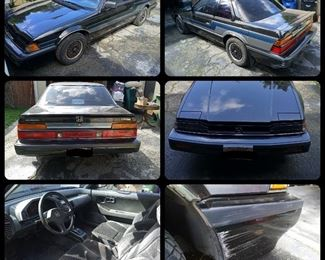 "1986 Honda Prelude 2.0 Si Low Mileage *Minor electrical issue *This is an ""as -is"" sale."
