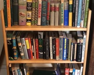 Just a few of the many books