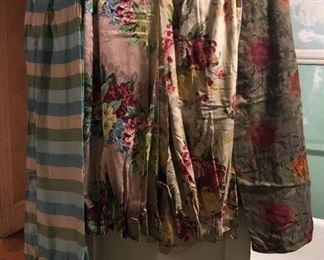 Vintage drapes