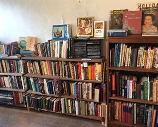 Did we mention the MANY books?
