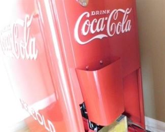 Coca-Cola Ice chest fully restored with new hardware.