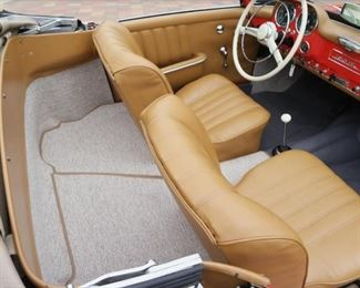 Fully restored 1962 Mercedes-Benz 190SL with both tops! Bid Now at www.aikenvintage.com
