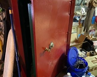 The Safe Cabinet Co.  Safe.  We DO have the combination!