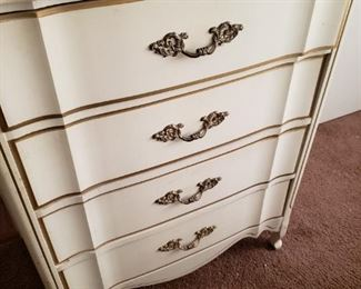 French Provincial Highboy Dresser