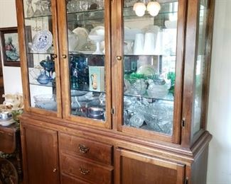 Handcrafted Hutch by our guy