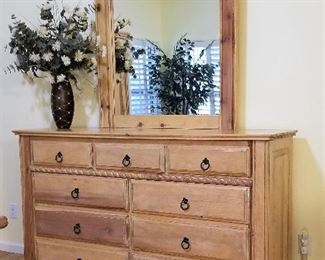 #9 - Matching dresser and mirror - $185