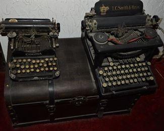 Corona L.C. Smith Antique Typewriters