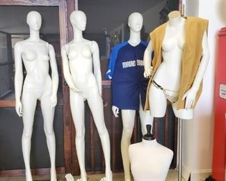 Full size mannequins