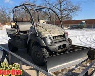 Kawasaki Mule 610 4WD ATV