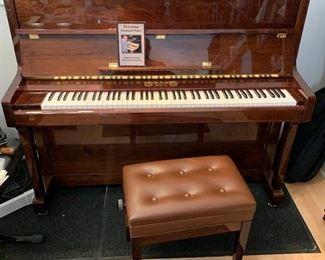 a fantastic Perzina Italian Upright Piano