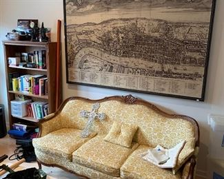 a nice French style sofa