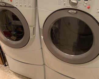 a great front loading washer and dryer