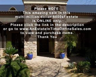 Las Sendas Estate Sale House Front jpg