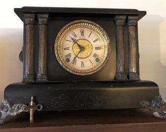 Working antique clock