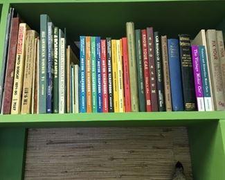 Automobile books - mostly vintage