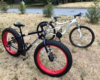 Mongoose Mountain bikes.  Mens and Ladies
