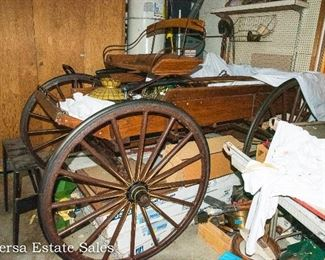 1890s Horse Drawn Wagon