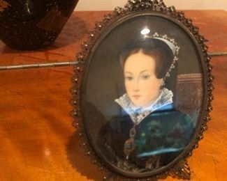 Victorian oval portraiture... $75.00