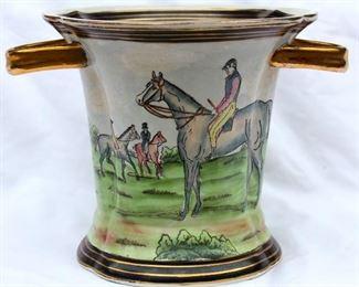 Handpainted export porcelain