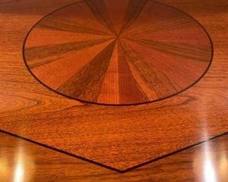Closeup of top of Widdecomb chests.
