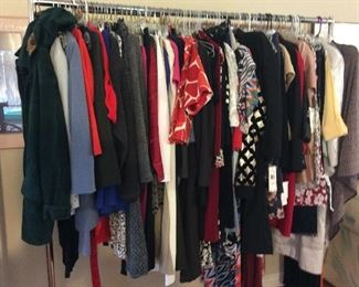 Great selection of women's clothes. Lots of larger sizes. Many new with tags