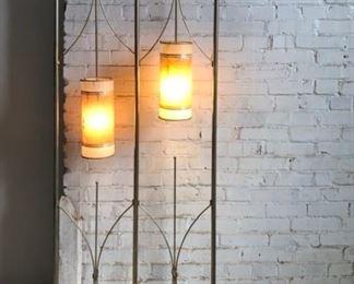 Mid-Century Modern Floor Lamp/Room Divider