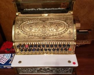 National Cash Register Model 349-G Circa 1914- Completely restored and working