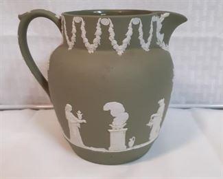 Rare 1956 green Wedgwood jug pitcher