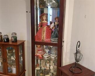 Curio Dolls, tea sets, oriental sets and more