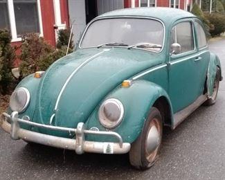 1965 VW, Needs Restoration, Garage Kept for 20 Years