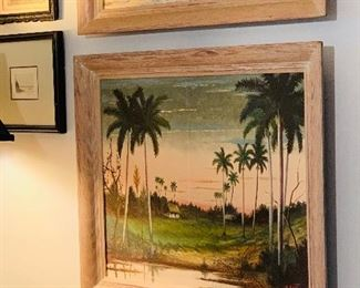 Antique Oil on Canvas $125