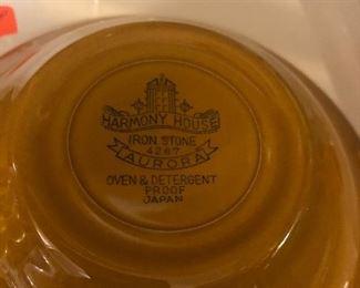 """Haromy House iron stone dinnerware set """"Aurora"""""""