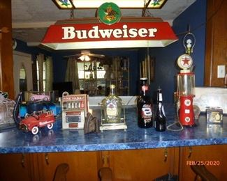 Budweiser collectables  - decorate your man cave!