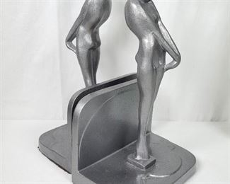 Art Deco Frankart Draped Nude Bookends