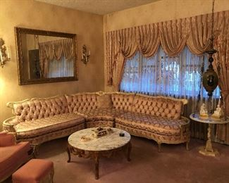 Vintage French provincial furniture and LOTS of great household items! Must see!