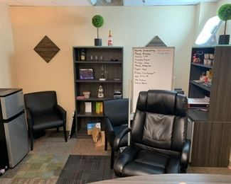 Matching bookcases for Executive Office set