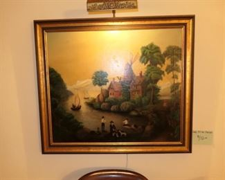Oil on Canvas-European