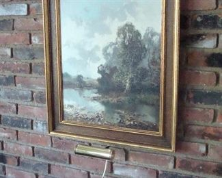 Original oil painting by Ingfried Henze.