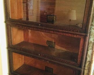2nd 4 stacking Globe barrister bookcase