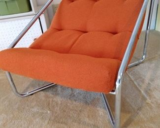 Two very cool mid century modern sling chairs!