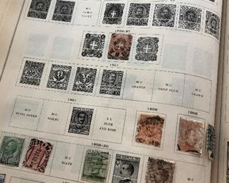 Vintage International Stamp Book