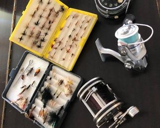 Fly Fishing  Hooks and Reels