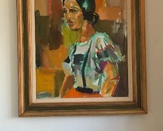 Portrait by Ian Jamison 1972  38w x 49h