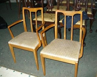 Drexel Projection Arm chairs